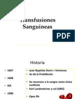 Clase Transfusiones Sanguineas