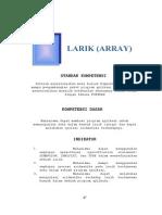 BAB 4 Larik Array (Fotran)