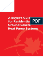 Article58 Residential Geothermal Buyers Guide 2009