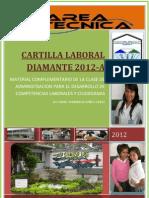Cartilla Laboral Diamante 2012