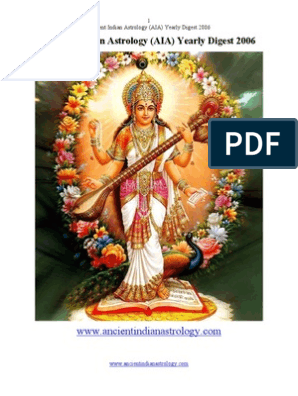 Ancient Indian Astrology AIA Yearly Digest 2006