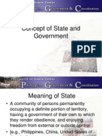 Concept of State and Government