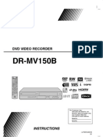 Instruction Manual DR-MV150B