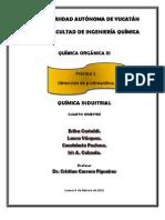 Practica 1-Obtencion de P-Nitroanilina