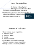 Unit II Water Pollution