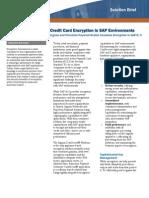 Credit Card Encryption in SAP Environments