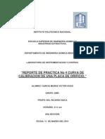 Practica 4 Instrumentacion y Control Placa de Orificio.