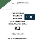 PRA RK3K 2012