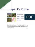 12. Slope Failure and Landslides