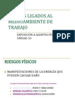 UNIDAD 10.- RIESGOS LIGADOS AL MEDIOAMBIENTE DE TRABAJO- RIESGO FÍSICO