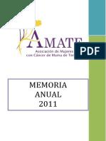 Memoria ÁMATE 2011