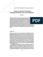 Property Tax Reform InIndonesia_Emerging Challenges From Decentralization by Roy Kelly 2