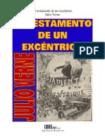 El testamento de un excéntrico - Julio Verne