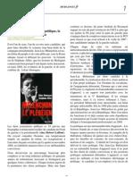 Jean-Luc Mélenchon la République, la laïcité et la franc-maçonnerie