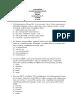Soal UN Sosiologi SMA 2009 Paket B