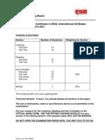 2009B (D09) B1 Question Paper
