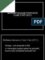 Konsep Dasar Intensive Care Unit (Icu)
