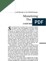 Monetizing the Debt - Bank of Canada