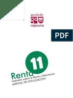 Manual Renta y Patrimonio 2011