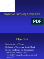 Update on Surviving Sepsis 2008