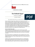Belt Hold Signal