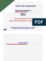 BDI - AULA 1 - Introducao