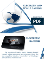 Electronic and Mobile Banking