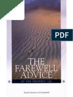 En the Farewell Advice