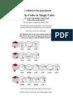 Rubik's Cube Formular