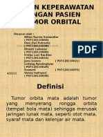 Asuhan Keperawatan Dengan Pasien Tumor Orbital