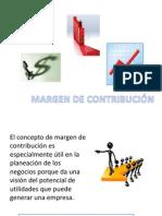 MARGEN DE CONTRIBUCIÓN