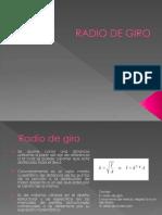Radio de Giro