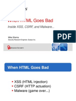 When HTML Goes Bad