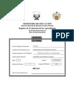 Registro Oficial de Inicial 2011