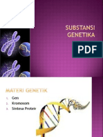 SUBSTANSI GENETIKA