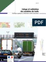 1020w Calage Et Validation Des Modeles de Trafic
