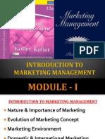 MM - Module - I