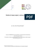 Modelo de Input -Output y Cadenas Markous