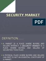 Unit 2- Security Market