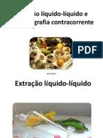 Grupo 2 - Extração líquido-líquido e CCC finalizada!
