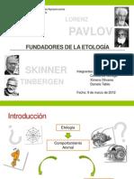 Fundadores de la Etología