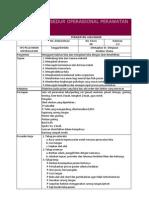 Standar Prosedur Operasional Perawatan Luka Bakar