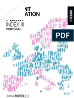 Portugal Abridged Migrant Integration Policy Index Mipexiii 2011 Pt