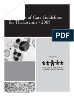 thalassemia handbook2009