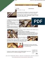 Construcción de flauta dulce