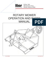 King Kutter Operation Manual