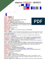 Dictionar  Marinăresc  ENGLEZ - ROMÂN