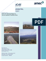 Novagold - Donlin Feasibility Study