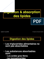15-Digestion Absorption Lipides