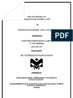 Mahanand Inplant Project